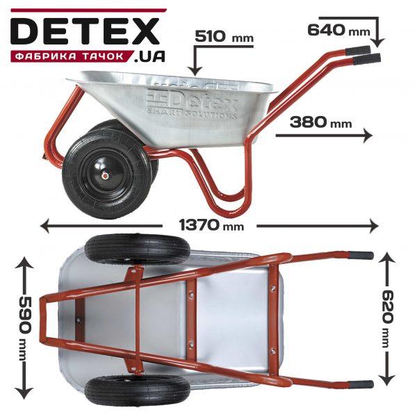 DETEX фабрика тачок
