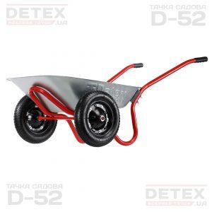 DETEX фабрика тачок D-52 садовая тачка от производителя